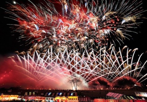 Ebisu-ko Fireworks & Snow Monkeys