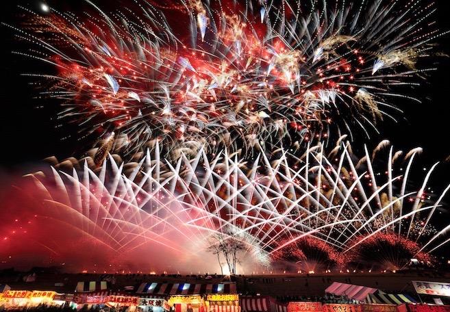 Ebisuko fireworks Nagano