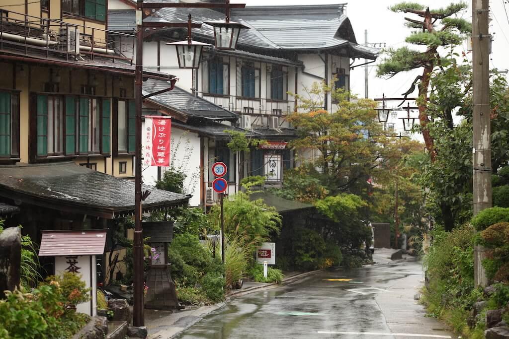 汤田中最古老的旅馆