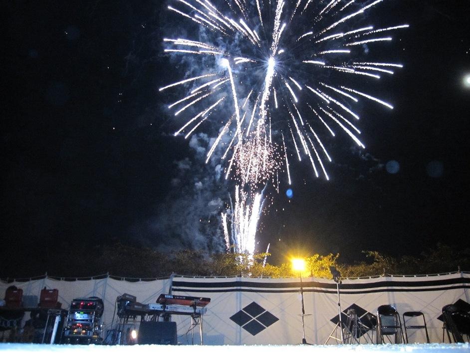Kawanakajima fireworks, Nagano