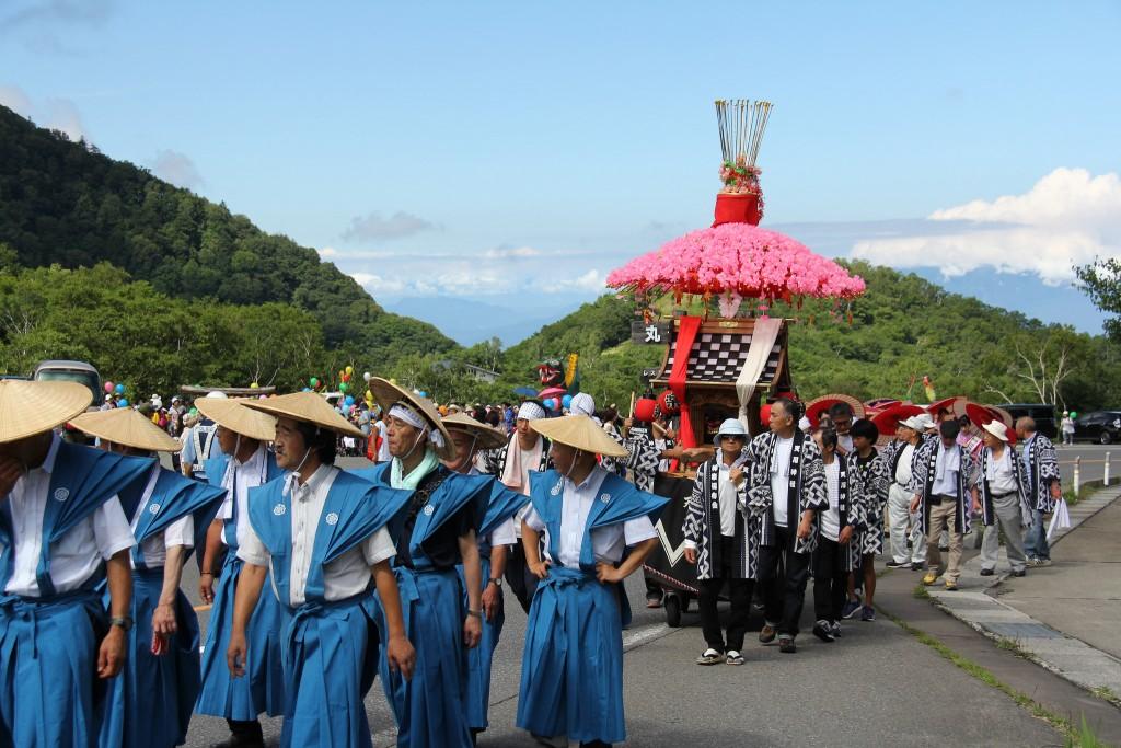 Daija festival parade