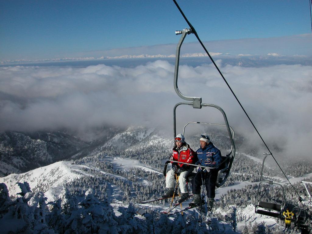 Shiga-kogen ski ropeway