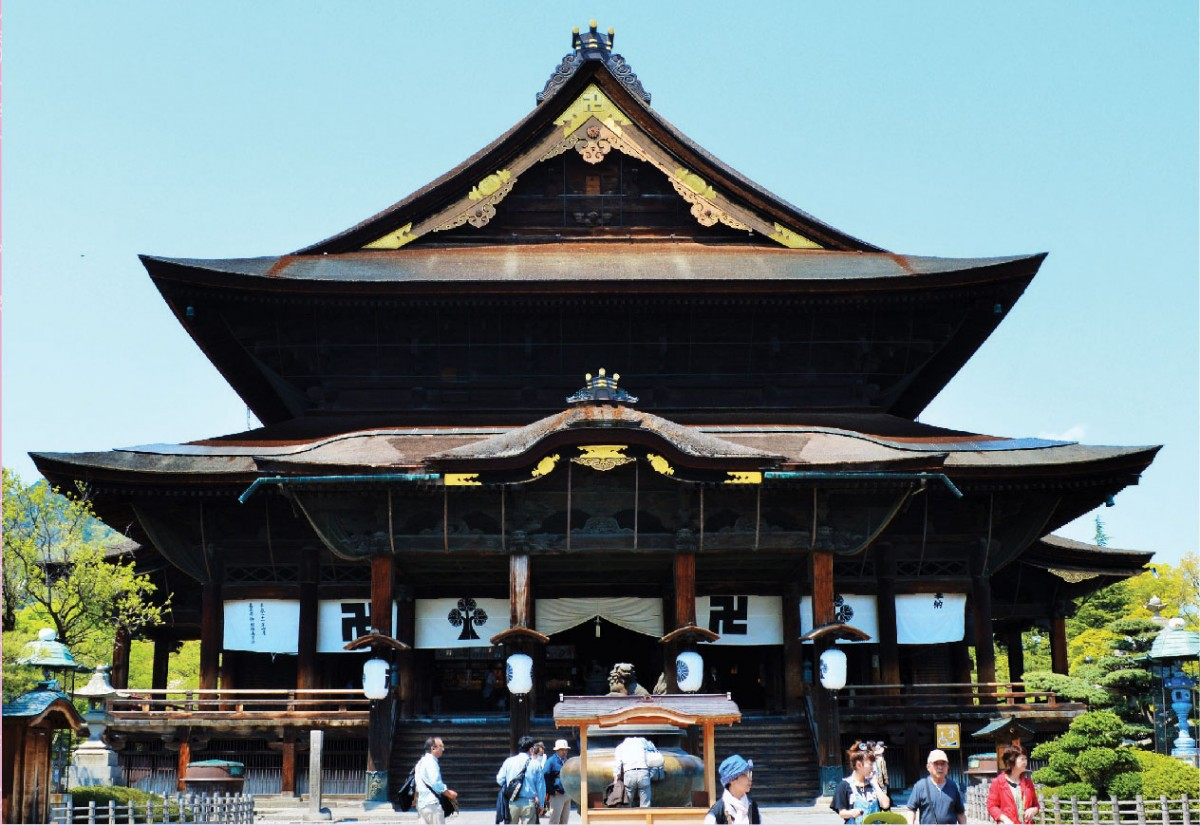 Zenko-ji temple in Nagano city