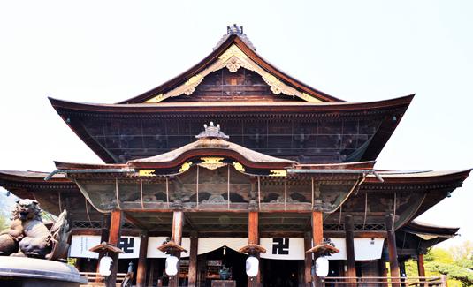 Zenko-ji temple at Nagano city