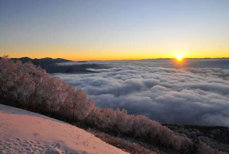 Sea of clouds at Kita-shiga Highlands