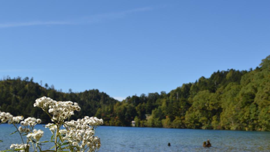 shiga kogen lake