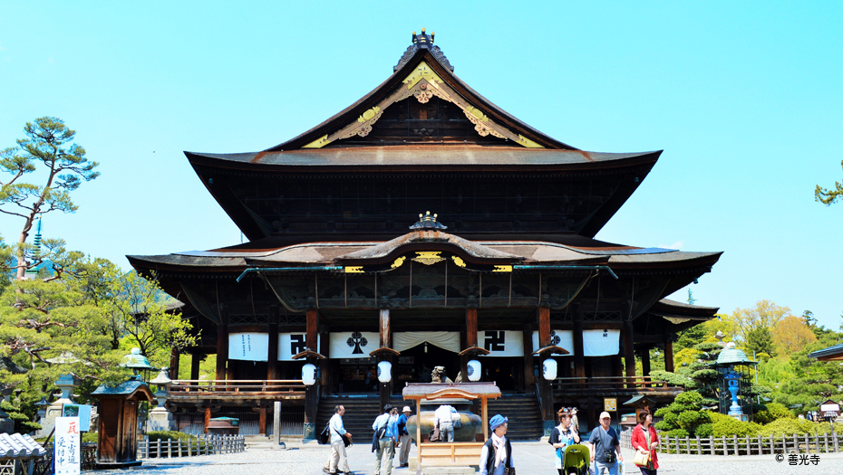 Zenko-ji temple, Nagano