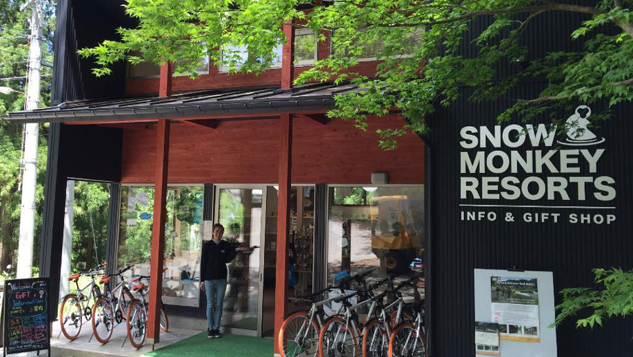 Snow monkey info and gift shop
