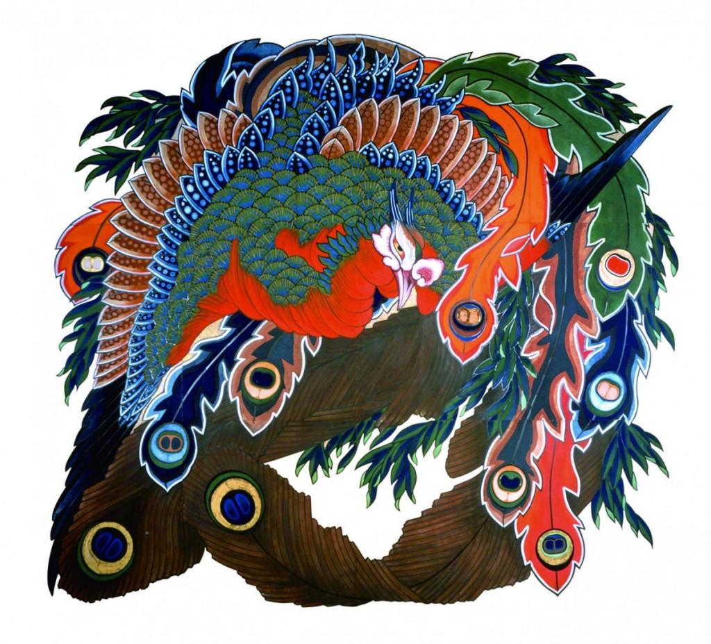 Hokusai houou, Obuse
