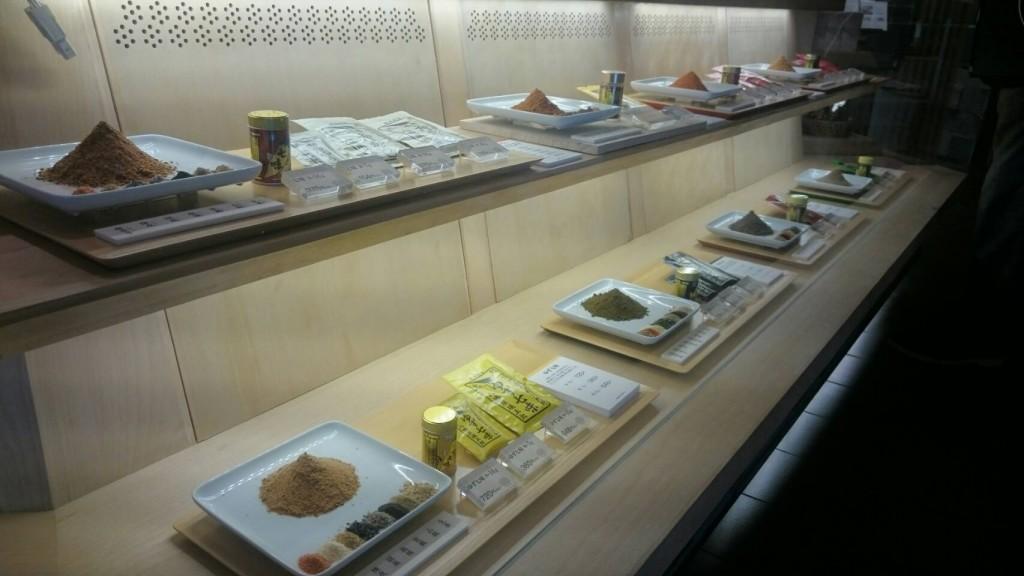 Shichimi spice shop, Nagano