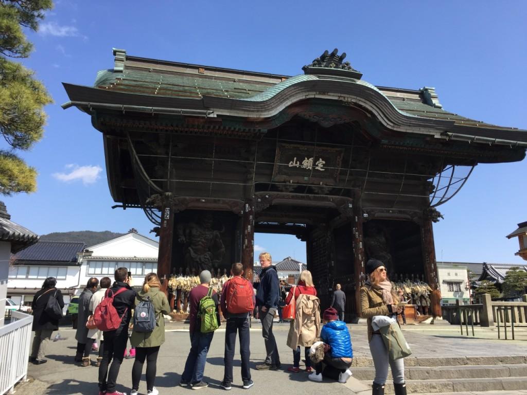 Niomon at Zenko-ji Temple