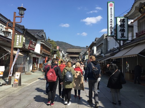 Nakamise street, Nagano