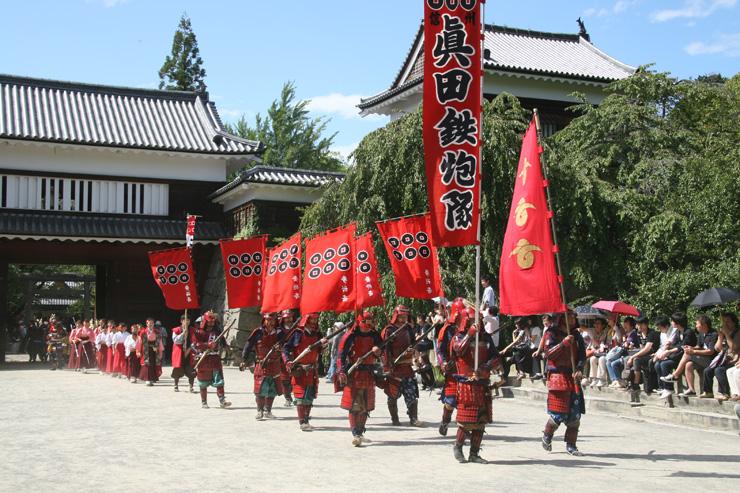 Sanada Festival parade, Matsushiro
