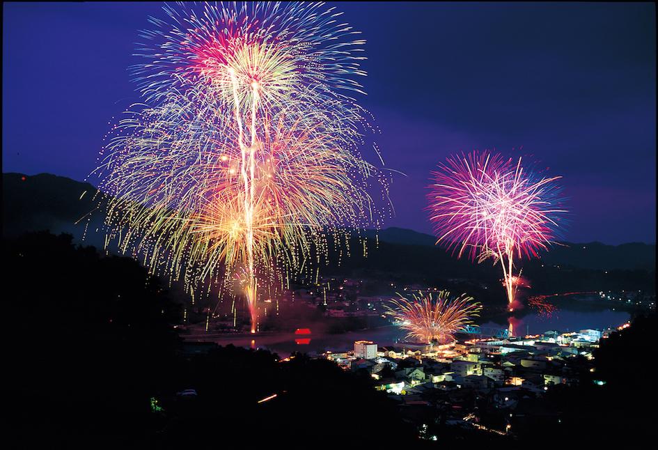 Rokaku Fireworks, Nagano