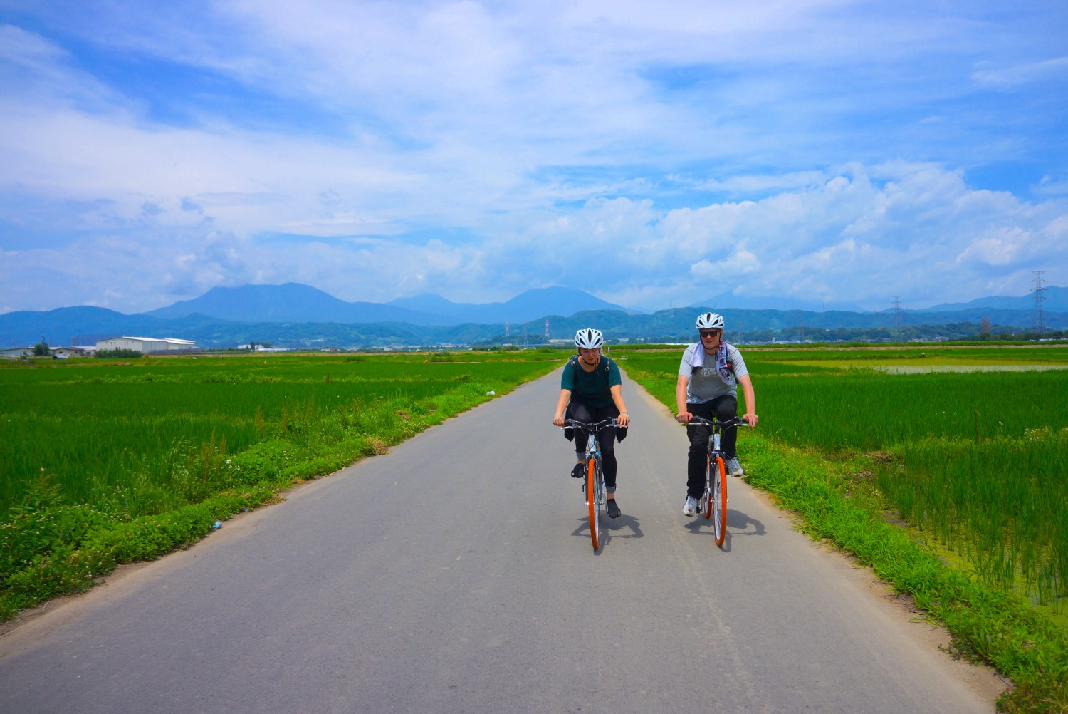 cycling to obuse