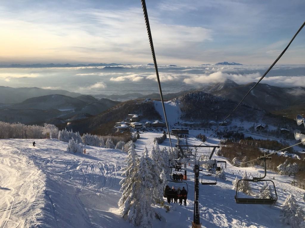 Shiga kogen view