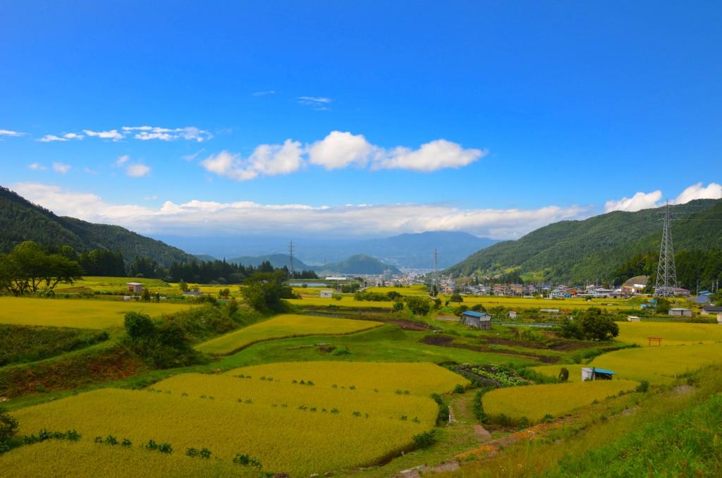 Shiga kogen Hiking Kanbayashi view