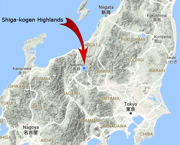 shigakogen-map-japan