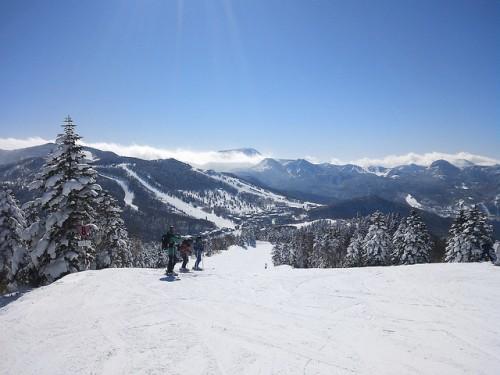 shiga ski yakebitaiyama