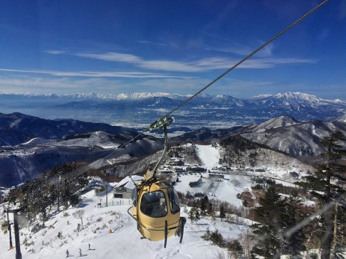 shiga ski higashidate gondola