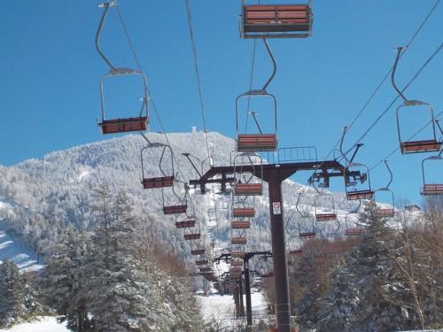 Shiga-ski lift to yokoteyama