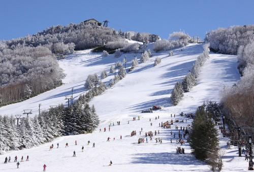 Shiga-takamagahara ski slope