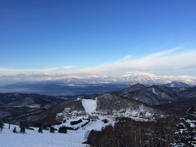 Shiga-view from takamagahara ski slope