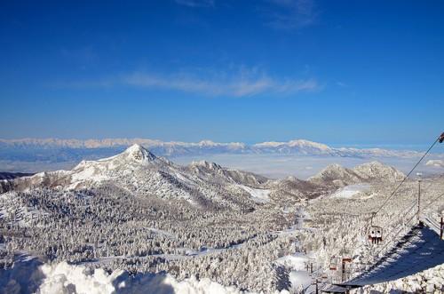 Shiga-view from yokoteyama ski