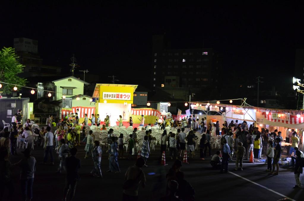 Yudanaka Onsen Summer Festival 2016