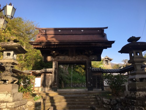 onsenji temple shibu