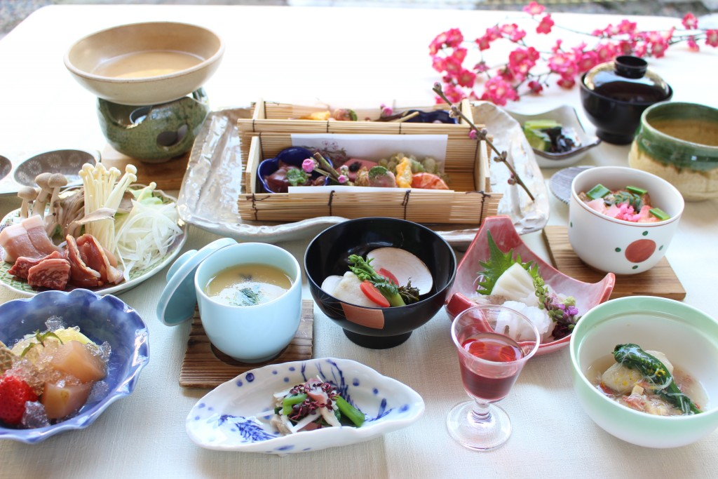 senjukaku dinner example winter