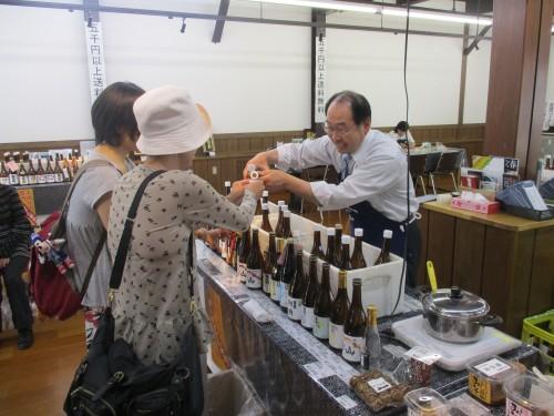 yoshinoya sake tasting