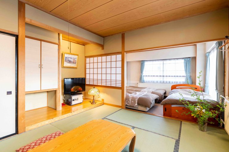 Standard Japanese-Western room with private bathroom