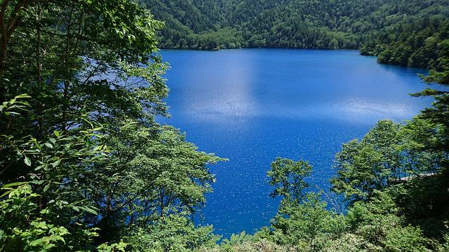 Shiga kogen onuma lake