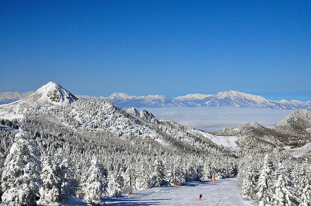 Shiga Kogen winter ski landscape 2