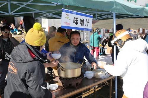 shiga kogen first snow festival food