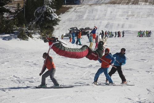 shiga kogen first snow festival ski demonstration 2