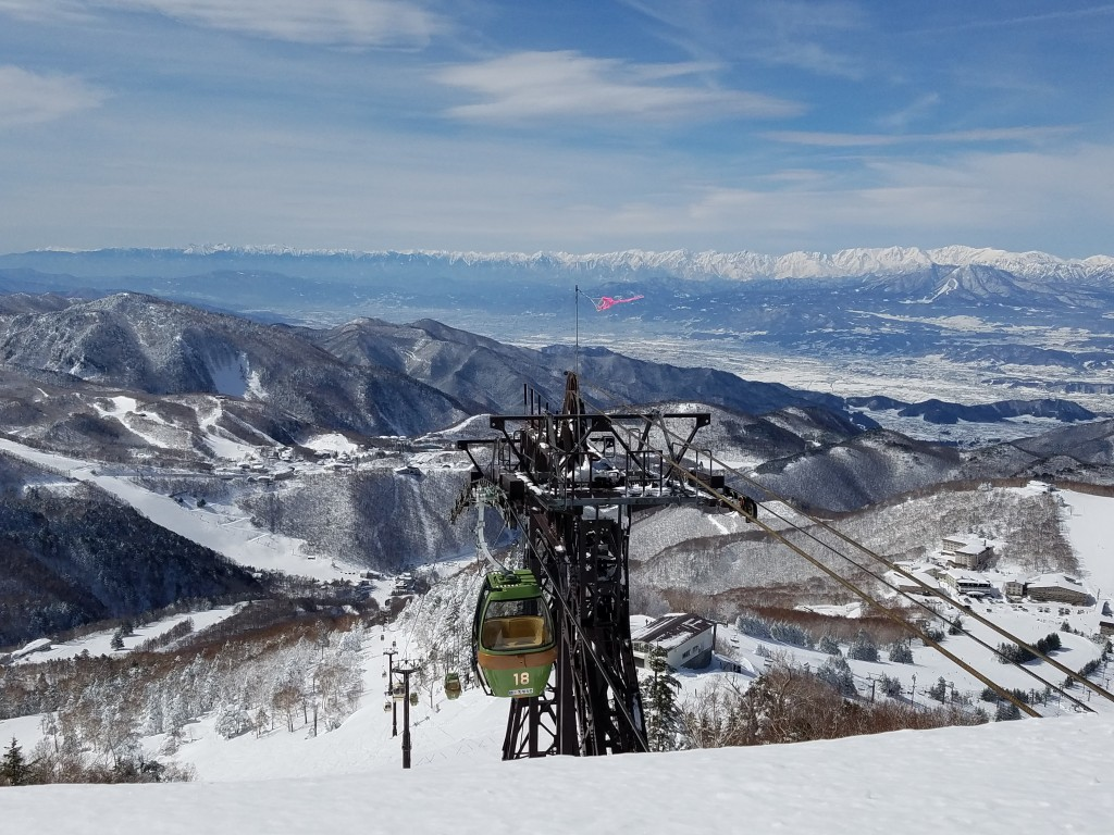 Lift to 200° Cafe in Shiga Kogen