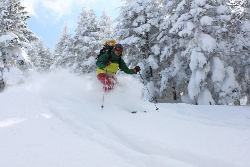 shiga backcountry tour