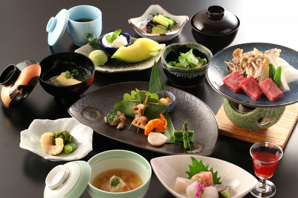 Senjukaku summer dinner