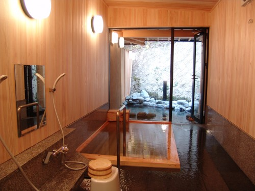 Indulge & unwind in the hotel's private hot spring