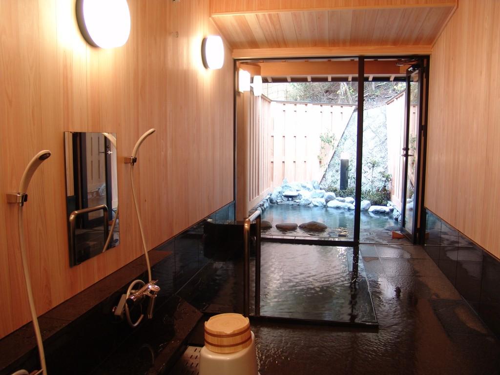 Private hot spring (stone) Senjukaku
