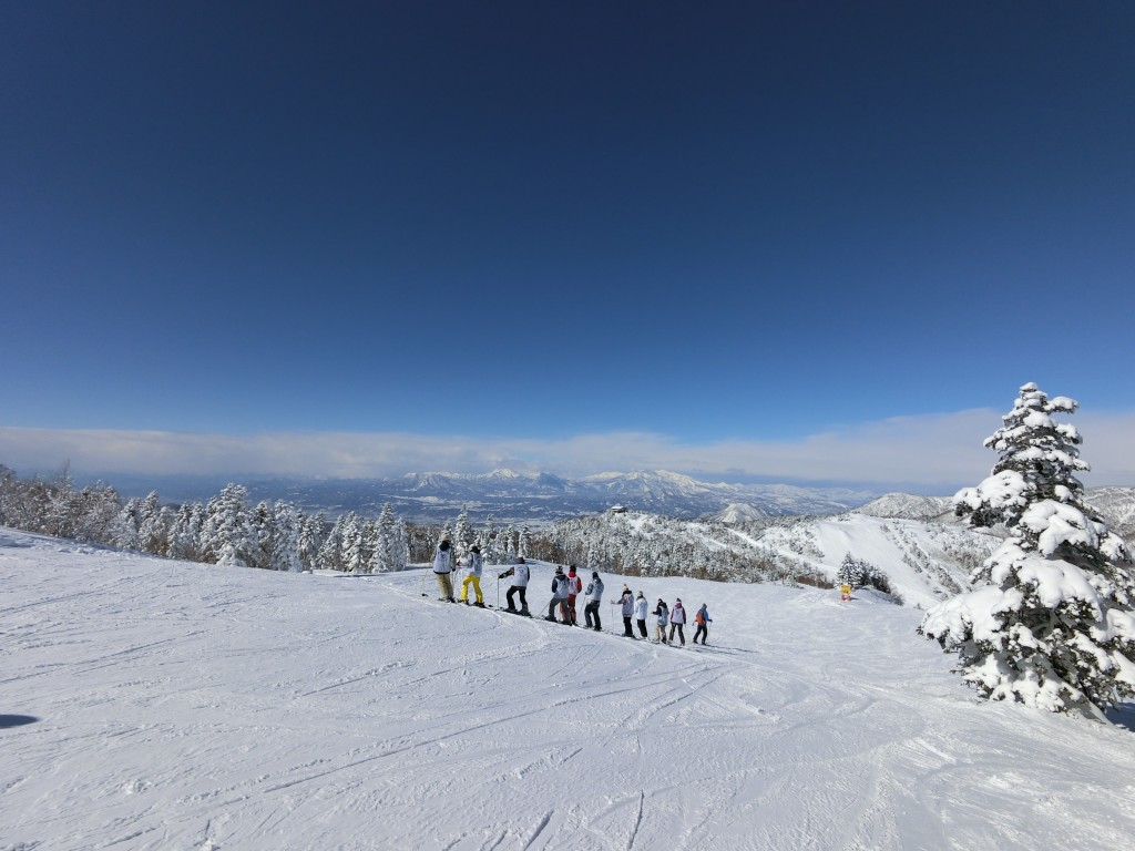Shiga Kogen Ski Terakoya Top View