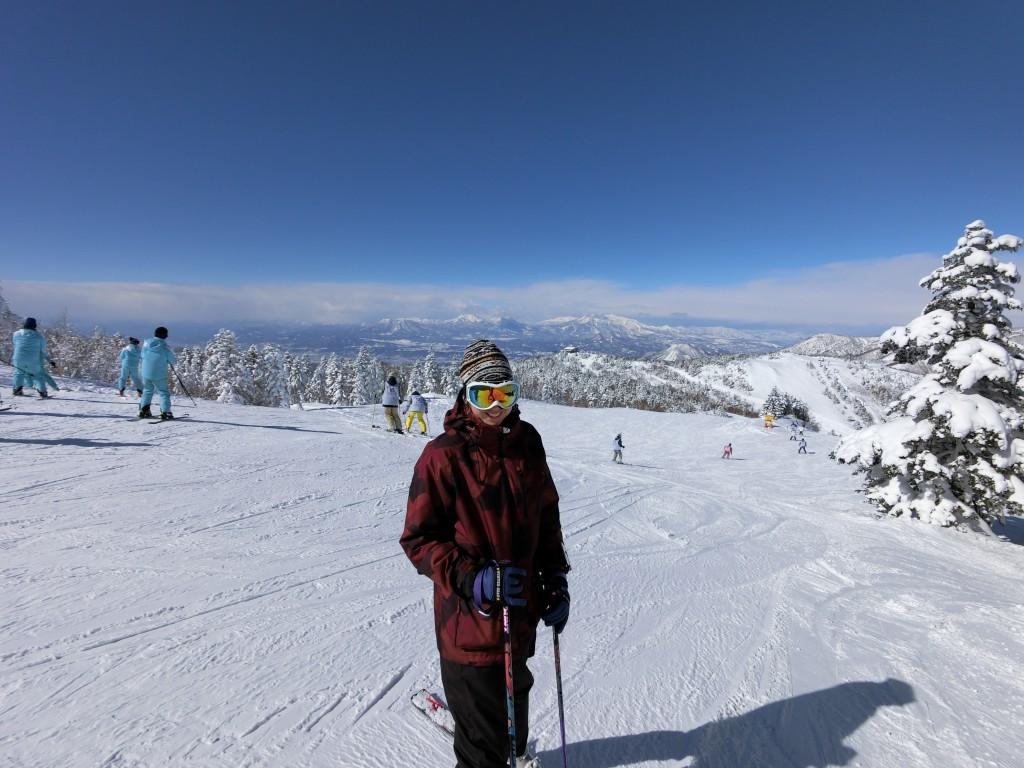 Shiga Kogen Ski Terakoya Ski View