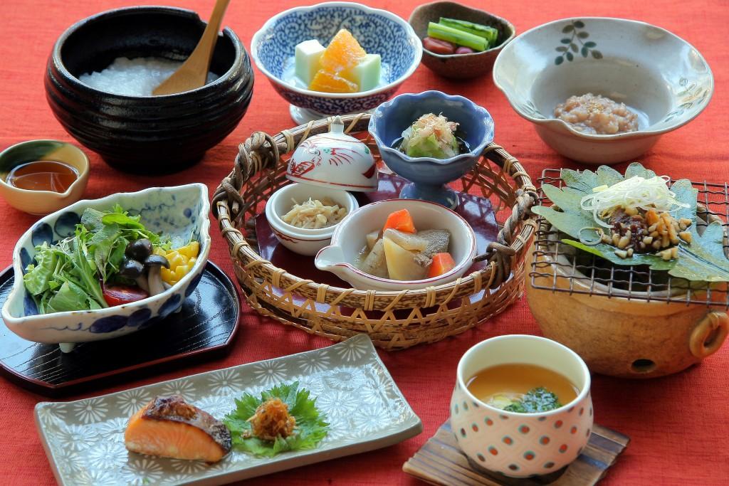 Senjukaku Japanese breakfast