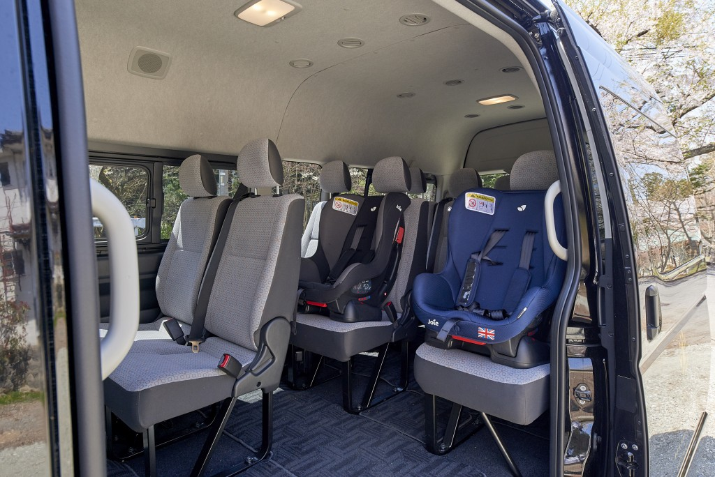 1. Hiace child seats 2
