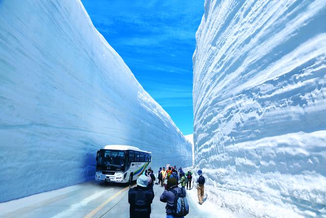 阿爾卑斯山脈路線 & 富山