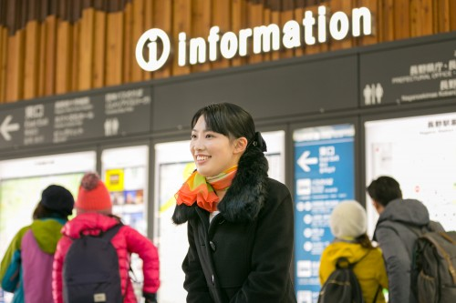 JR長野站往返的免費班車