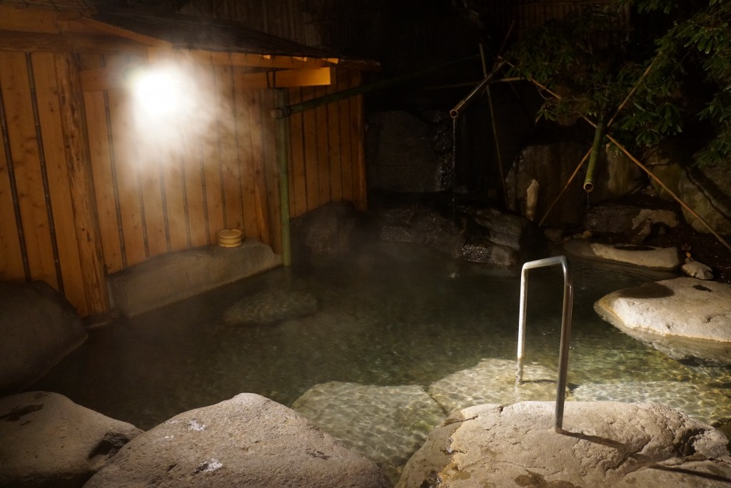 senjukaku outdoor hot spring