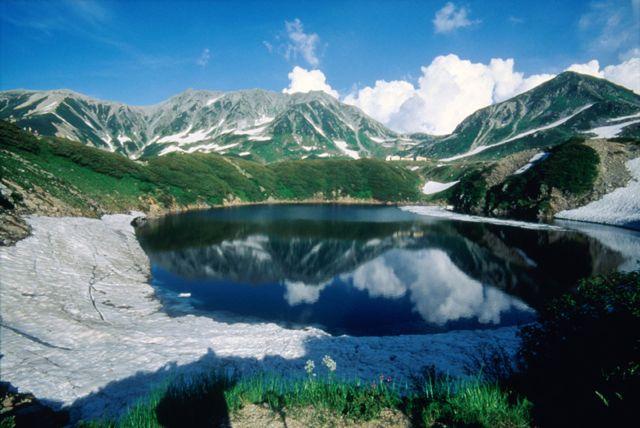 Mikurigaike, Murodo, Alpine Route